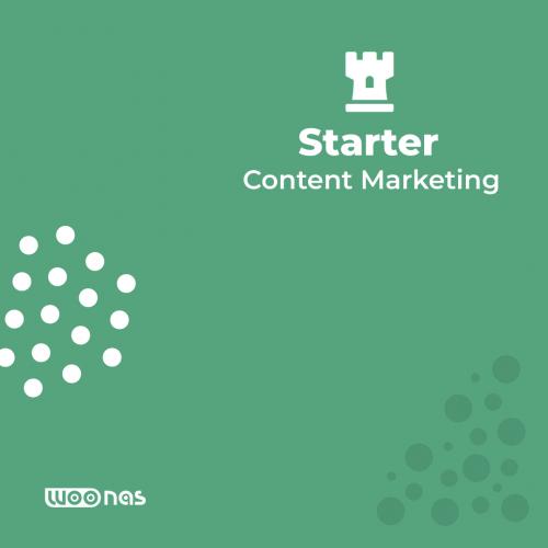 Woonas Content Marketing Starter Services