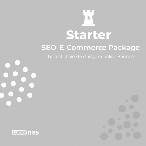 Woonas Search Engine Optimization E-Commerce Starter Package